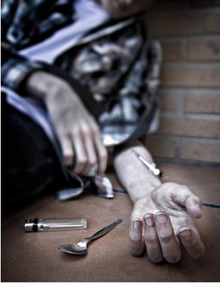 O consumo de drogas tem acabado com o futuro e com a vida de muitos jovens