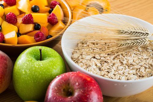 O consumo de fibras é importante para o funcionamento do intestino