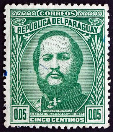 O ditador Francisco Solano López foi o líder do Paraguai durante os conflitos travados na Guerra do Paraguai*