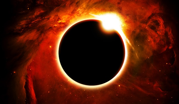 O eclipse solar é um espetáculo da astronomia e da natureza celeste.