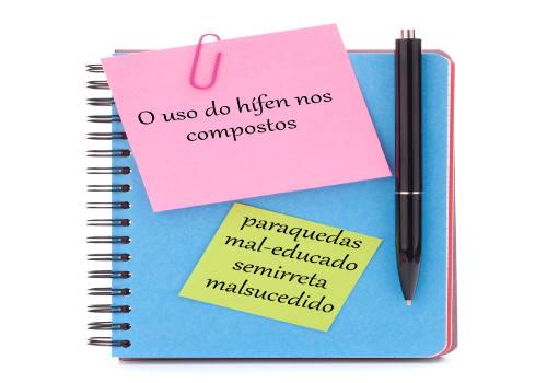 O emprego do hífen em palavras compostas é uma simples convenção da escrita