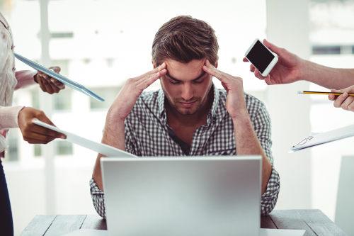 O estresse pode ser desencadeado por fatores do dia a dia