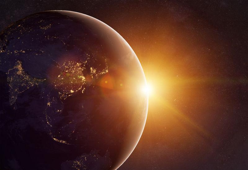 O éter luminífero era considerado uma espécie de fluido que preenchia todo o universo