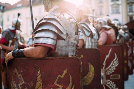 O exército imperial romano foi um dos mais bem organizados do mundo antigo