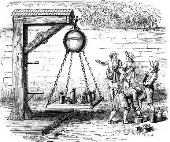 O experimento de Guericke forneceu importantes entendimentos sobre a intensidade da pressão atmosférica.