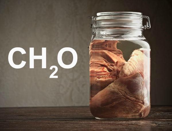 O formol ou metanal (CH2O) apresenta moléculas com geometria trigonal plana