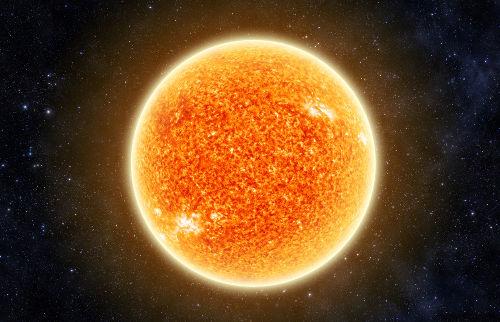 O hidrogênio é o principal combustível de estrelas, como o Sol