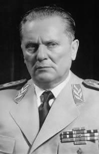 O ideal socialista e o carisma de Josip Broz Tito amenizaram as pressões internas