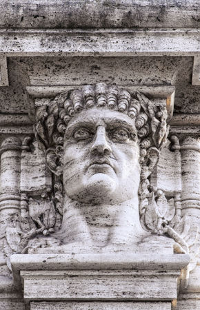 O imperador Nero foi o acusado de incendiar a cidade de Roma em 64 d.C.