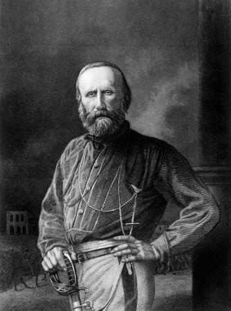 O italiano Giuseppe Garibaldi foi um dos nomes de destaque que atuou durante a Revolta dos Farrapos