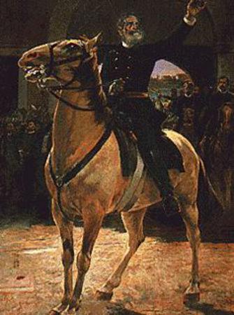O marechal Deodoro da Fonseca proclamou a República e foi o primeiro presidente do Brasil