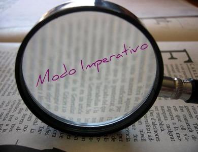O modo imperativo se constitui do presente do indicativo e do presente do subjuntivo