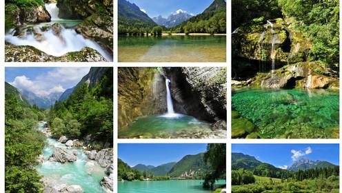 O mundo composto por diferentes tipos de paisagens naturais