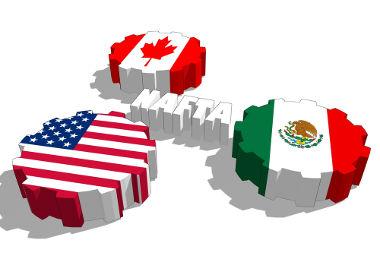 O Nafta é um bloco econômico composto por EUA, México e Canadá