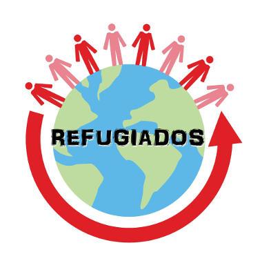 O número de refugiados vem aumentando rapidamente em todo o mundo