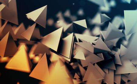 O perímetro do triângulo é a soma das medidas dos seus lados, assim como é feito em qualquer polígono