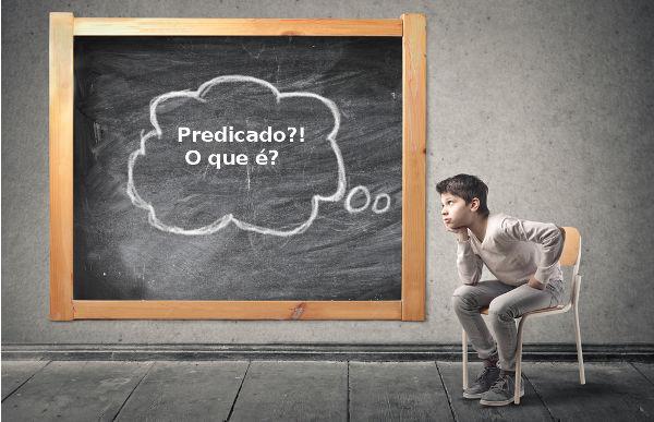 O predicado é a parte da oração que contém o verbo e que traz informações sobre o sujeito