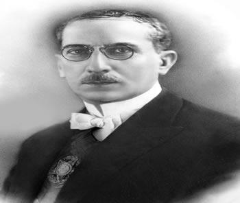 O presidente Artur Bernardes, que governou entre 1922 e 1926