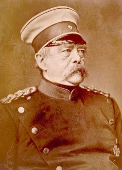 O primeiro-ministro prussiano Otto von Bismarck foi o grande arquiteto do processo que levou à unificação alemã