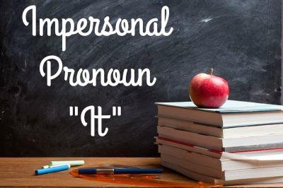 """O Pronome """"it"""" possui muitos usos, e um deles é para se referir a animais domésticos."""