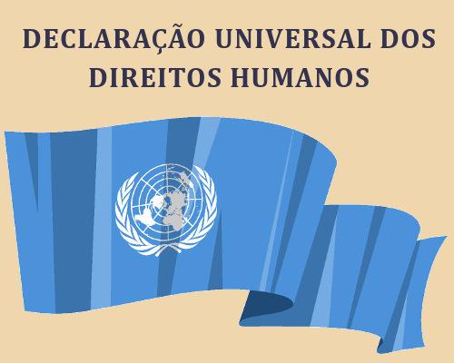 O respeito aos direitos e às liberdades individuais e coletivas é a base da Declaração Universal dos Direitos Humanos