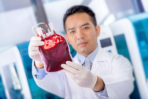 O sangue é um exemplo clássico de solução-tampão