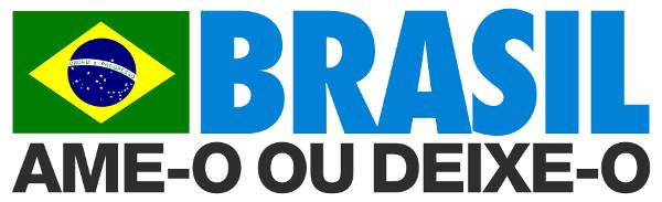 O slogan acima representa uma das facetas repressivas da ditadura civil-militar no Brasil