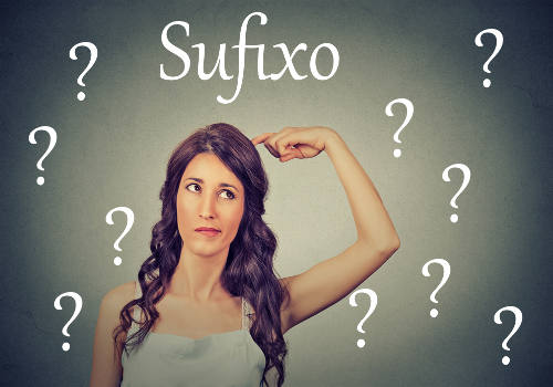 O sufixo é um morfema que não ocorre de forma independente na língua portuguesa