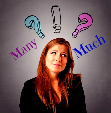 """O uso de """"Much"""" e """"Many"""" causa muitas dúvidas nos aprendizes de língua inglesa"""