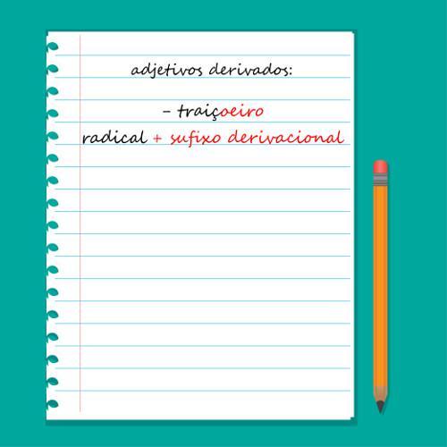 Os adjetivos derivados possuem afixos derivacionais. Saiba mais no texto!