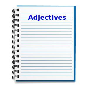 Os adjetivos em inglês são usados para qualificar ou modificar um substantivo ou um pronome.
