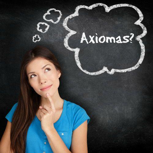 Os axiomas também são conhecidos como postulados