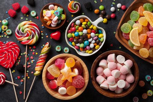 Os doces são alimentos que, em excesso, podem desencadear obesidade