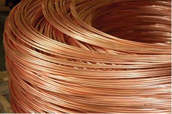 Os fios de cobre precisam ser purificados por meio de eletrólise, para que conduzam bem a eletricida