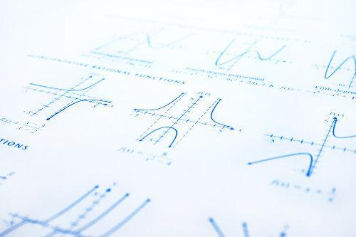 Os gráficos de algumas funções, por definição, possuem domínio, contradomínio e imagem