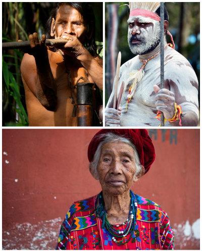 Os povos indígenas de todas as etnias mundiais devem ter garantidos os seus direitos