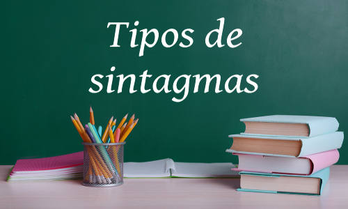 Os sintagmas são unidades da língua que possuem uma relação de determinação