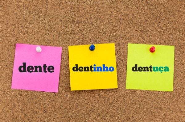 Os sufixos nominais são afixos que geram substantivos e adjetivos