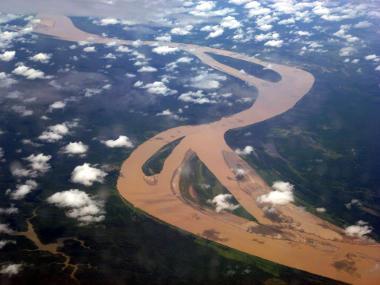 Os ventos alísios, em convergência, interferem no clima da Amazônia e de outras áreas equatoriais
