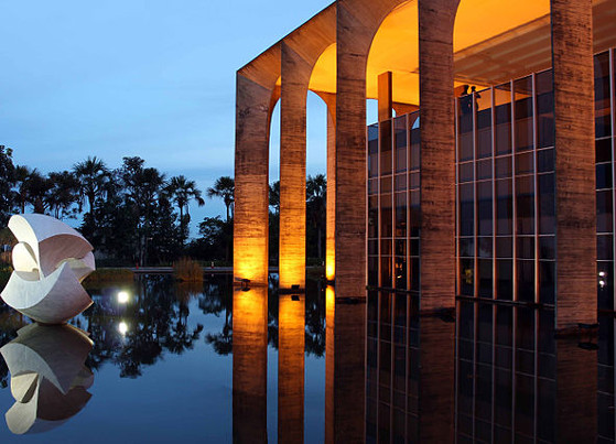 Palácio do Itamaraty é a sede do Ministério das Relações Exteriores