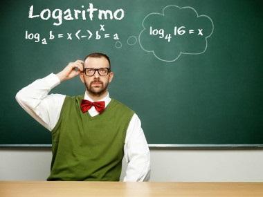 Para calcular o logaritmo, devemos utilizar a fórmula loga b = x ↔  bx = a