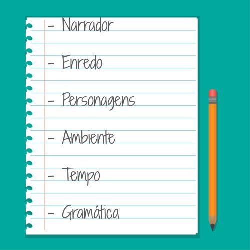 Para organizarmos um bom texto narrativo é necessário algumas características