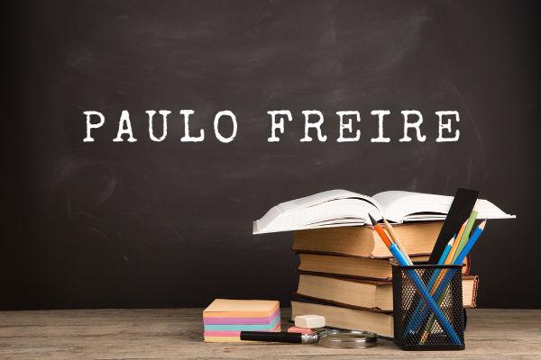 Pedagogo, filósofo e escritor, Paulo Freire é visto no mundo todo como uma figura importante na teoria sobre educação, aprendizagem e alfabetização.