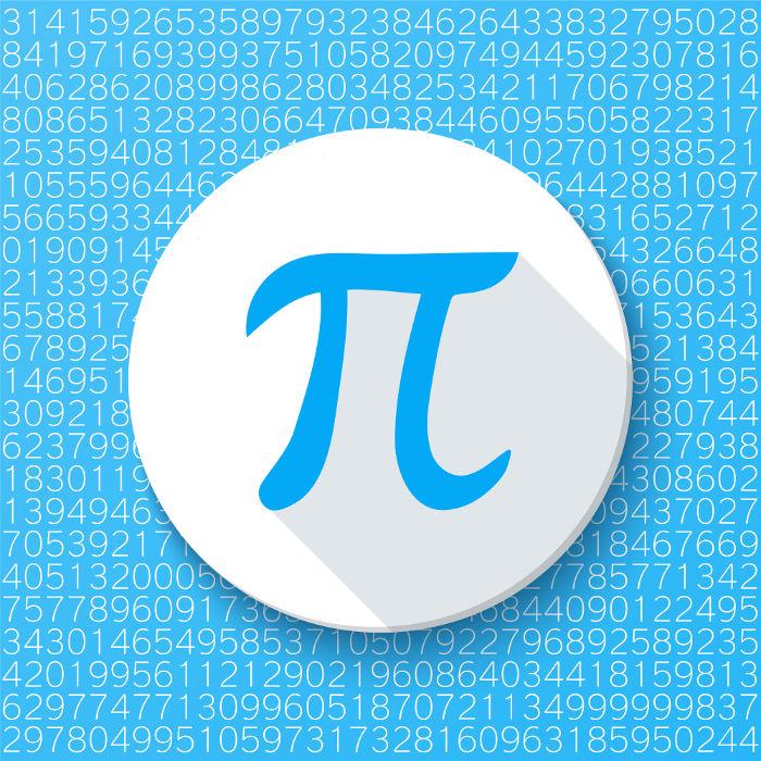 Pi é um dos representantes mais conhecidos do conjunto dos números reais