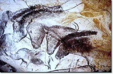 Pintura Rupestre encontrada na Caverna de Chauvet, França