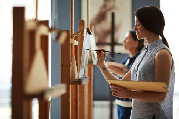 A pintura é internacionalmente conhecida como a 3ª arte.