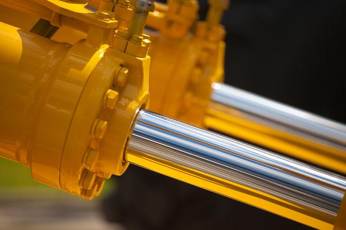 Os pistões hidráulicos funcionam graças ao princípio de Pascal.