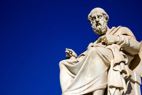 Platão foi o primeiro filósofo a reconhecer o lugar da imanência e da transcendência na História da Filosofia