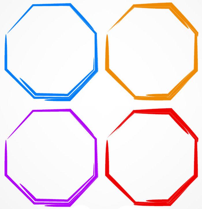 Polígonos são figuras geométricas planas