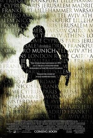 "Poster do filme ""Munich"", Steven Spilberg, Universal Pictures, 2005"